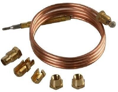 Universal Thermocouple 1200Mm Long With Threaded End Free Uk Carriage
