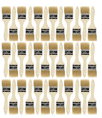 36 Pk- 2 inch Chip Paint Brushes for Paint, Stains,Varnishes,Glues,Gesso