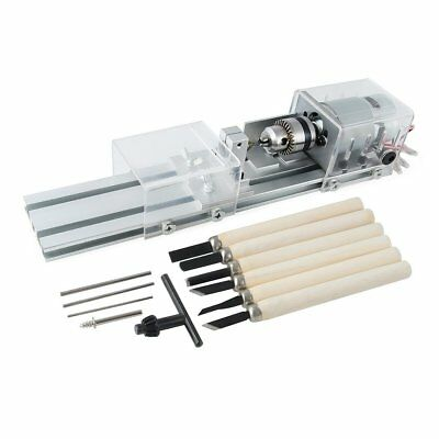 Wood Lathe Tools Standard Set Woodworking DIY Commercial Hobby w Beads Polisher