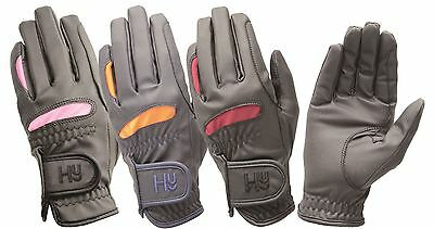 Hy5 Lightweight Equestrian Horse Riding Gloves 3 Colours Size XS-XL 10714P