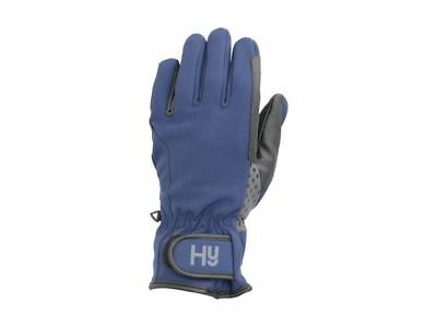 Hy5 Water Repellent Softshell Horse Riding Winter Gloves Size XS-XL 12744P