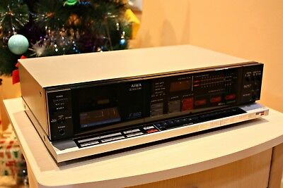 Aiwa AD-F660 Cassette Tape Deck - Very Good Condition