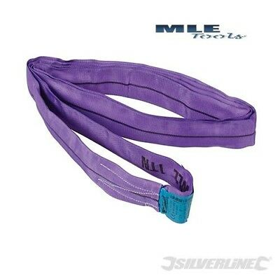 297196 Silverline Endless Round Sling 1000kg 1.5m lifting crane strop