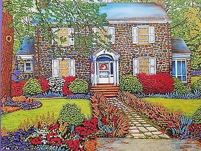 1000 Piece Jigsaw Puzzle Welcome Home Collection Historic Home NEW SEALED