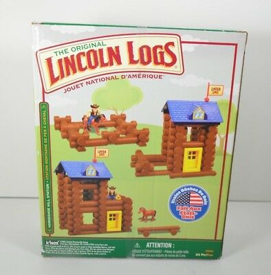 K'NEX Lincoln Logs Horseshoe Hill Station Construction Set 83 Pieces New Other