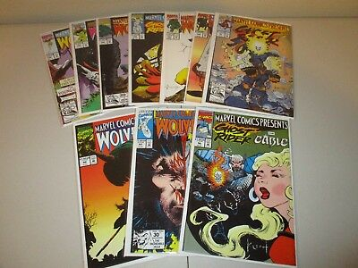 Marvel Comics Presents  #96-105  VF/NM  (Full Lot of 10)  Wolverine