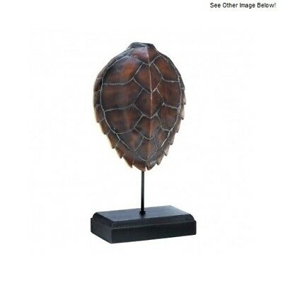 Turtle Themed Décor Entryway Table Room Shell Tortoise Stand Living Free Gift