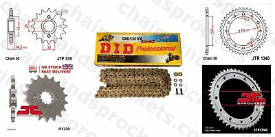 DID- Gold X Ring Motorcycle Heavy Duty Kit fits Honda VFR800 F1 VTEC (ABS) 02-14