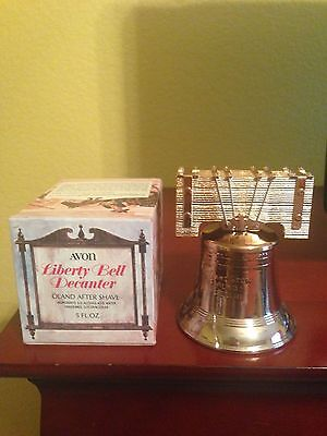 Avon Liberty Bell Decanter - Oland after shave - 1976