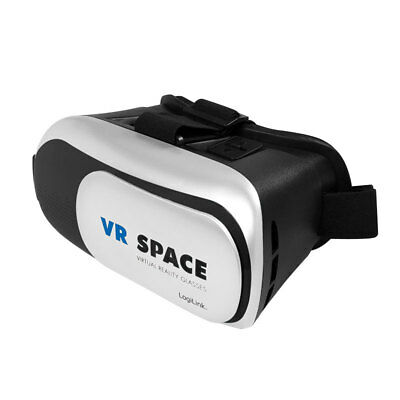 """LogiLink VR-SPACE 3D Brille für 4-6"""" Display Iphone Android Smartphone Virtual"""