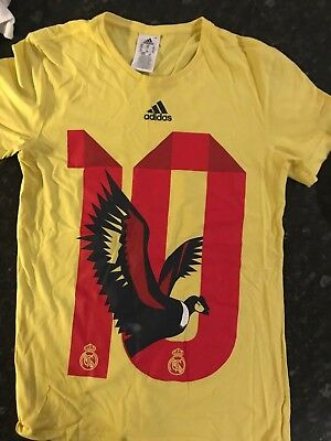 san francisco a05ef 959f4 ADIDAS WORLD CUP James Rodriguez Colombia Real Madrid No.10 T Shirt Size XS