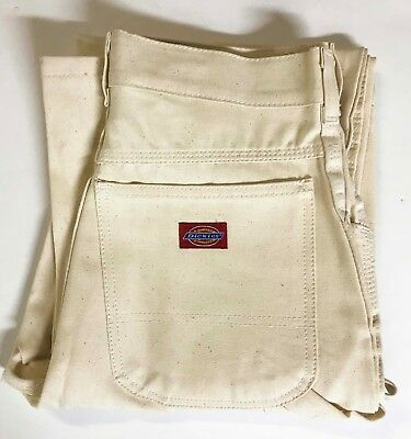 Men's Vintage Dickies Painter Carpenter Pants Sz 30x34 Hipster Deadstock