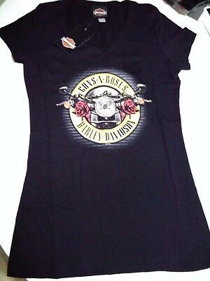 Rare Guns N Roses Original Harley Davidson T Shirt Not In This Life