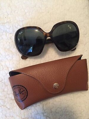 Ray-Ban Women's Jackie Ohh II Butterfly Sunglasses RB4098-601/8G-60
