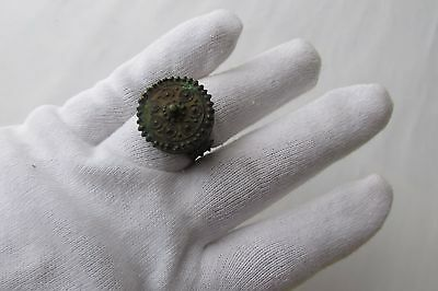 Unique Rare Ancient Late Roman/early Byzantine Ring