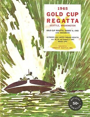 REGATTA GOLD CUP Race Seattle Washington Yacht Club Boat Race