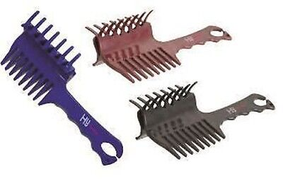 HySHINE Perfect Plaits Horse Pony Grooming Comb 7882P