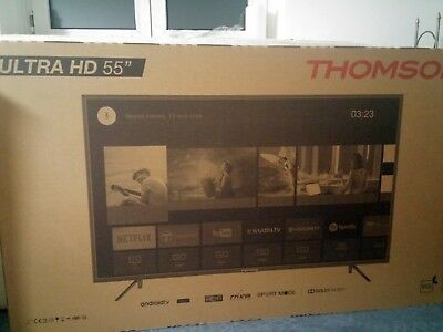"THOMSON 55UC6406 55 Zoll 4K UHD Direct-LED TV HDR 10 Ultra HD Android 55"" UC"