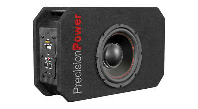 """Precision Power PPi SNBX.8 300 W 8"""" Amplified Ported Subwoofer Enclosure Box"""