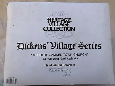 Dept. 56 Dickens Village The Olde Camden Town Church 58346