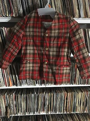Vintage 1964 Sears Disney Winnie The Pooh Blazer Sport Coat Plaid