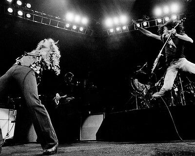 Rock Band LED ZEPPELIN Glossy 8x10 Photo Robert Plant Print Jimmy Page