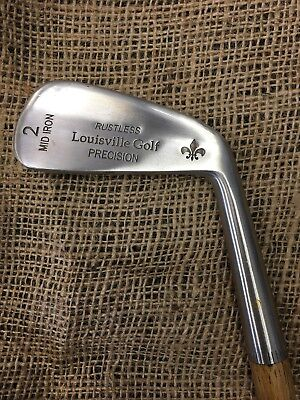 New Vintage Antique Style Louisville Golf Hickory Shafted Precision 2-Iron