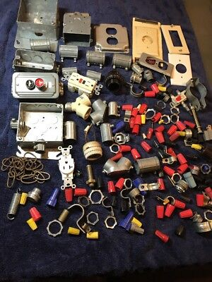 Big Lot Of Electrical Items And Accessories