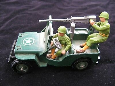 Britains Deetail US Jeep #9786 USA American Army World War 2 WWII Vintage Toy
