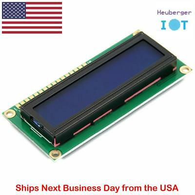 1602 LCD1602 16x2 Character LCD LCM Display Module Blue Blacklight for Arduino