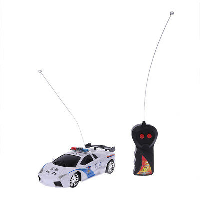 1/24 Drift Speed RC Radio Remote Control 2CH Racing Police Car Toy Kids Gift