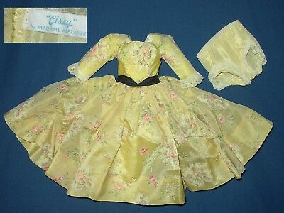 """Vintage - Madame Alexander - Lovely Dress For A Cissy Doll 20"""" Tall"""