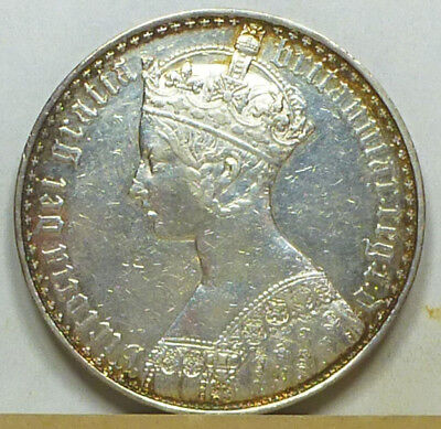 Great Britain Gothic Crown 1847 Extremely Fine