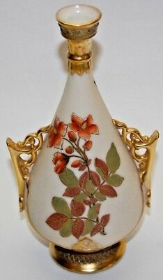 Vintage 1888 Royal Worcester China Vase 6.5 Inches Tall (Date Code Z)
