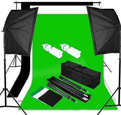 Excelvan Pro Kit Beleuchtung Studio Foto 1250W 5500K Kit Flash Studio 467075