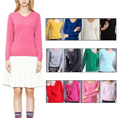 cashmere jumpers for womens Casual Fashion Unisex Comfy Pullover Sweater Size