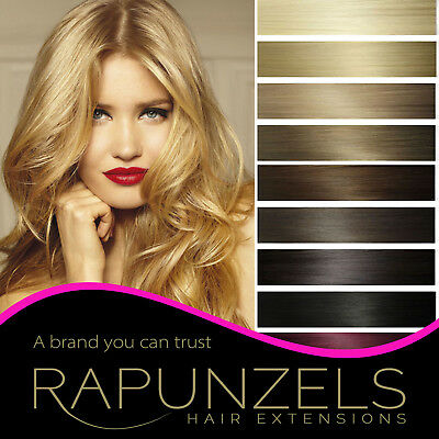 Clip In Remy Human Hair Silky Weft/Weave Hair Extensions   Rapunzels