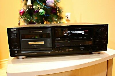 Aiwa AD-F910 Cassette Tape Deck - Very Good Condition