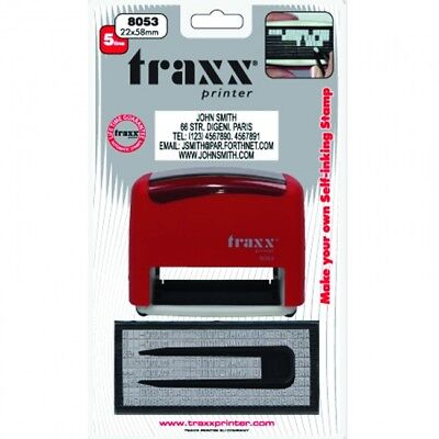 Make Your Own DIY Rubber Stamp - Self Inking - TRAXX 8053 - DIY John Bull Style