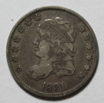 1831 Capped Bust Half Dime YJ62