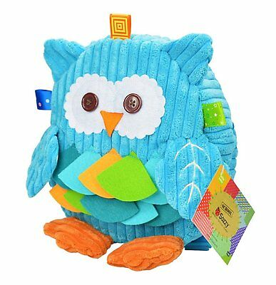 1 to 6Y Kids Boys and Girls Adorable 3D Cartoon Plush Backpack Children Plush