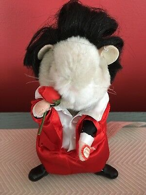 Dancing Singing Hamster Temptations Aint Too Proud to Beg Valentine Motown NICE!