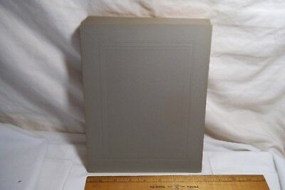 """Lot of 24 Antique Cabinet Card New Old Stock Unused CARDSTOCK Sheet- 10""""x 8"""""""