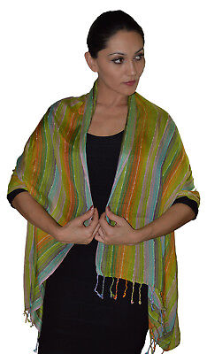 Scarves Shawls Hijab Evening Wrap Cover-Up Woven Reversible Lightweight Stylish