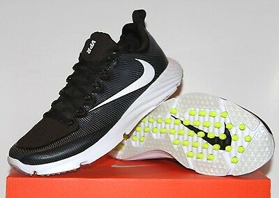 the latest abf39 5fbc8 NEW NIKE VAPOR SPEED TURF Football Shoes Mens Black White Volt 833408-017