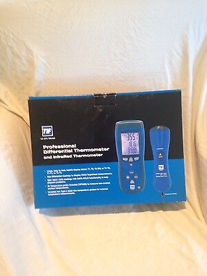 New TIF SPX Model 3310 Professional Differential Thermometer Tester HVAC