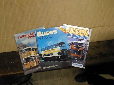 Any Issue of Buses Annual or Buses Yearbook £1+post