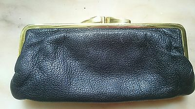 vintage retro leater purse