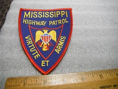 Mississippi Highway Patrol Iron on patch
