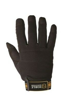 Noble Outfitters Outrider Gloves Black/ black & Tan BAT-12296P